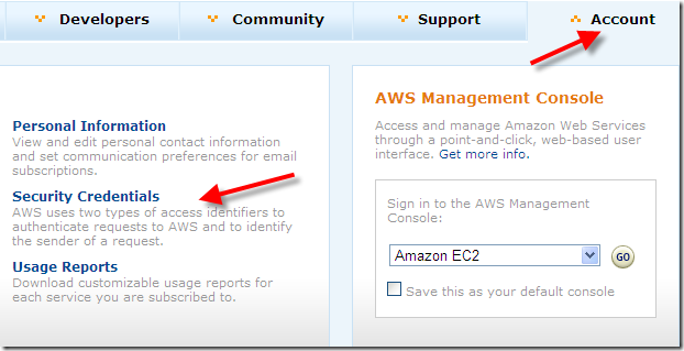 How to find your AWS Access Key ID and Secret Access Key ...