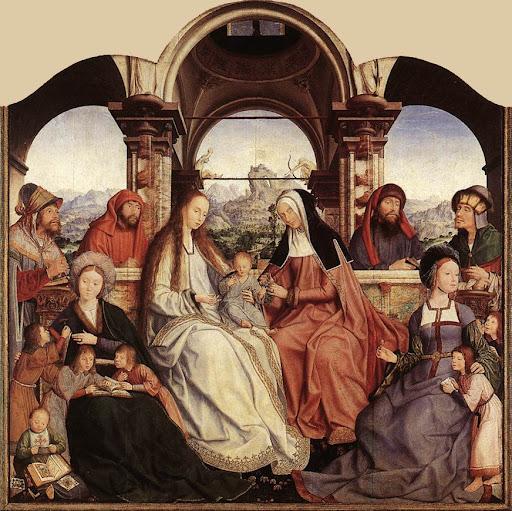 Sveta Ana, Sveta Marija i dijete Isus
