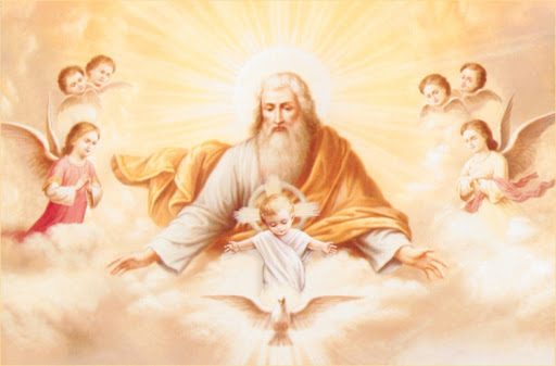 Bog Otac, Dijete Isus i Duh Sveti