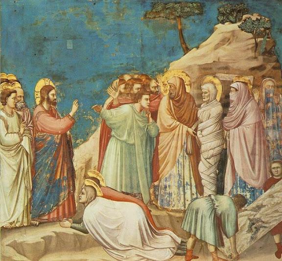 Giotto Scrovegni: Uskrišenje Lazara