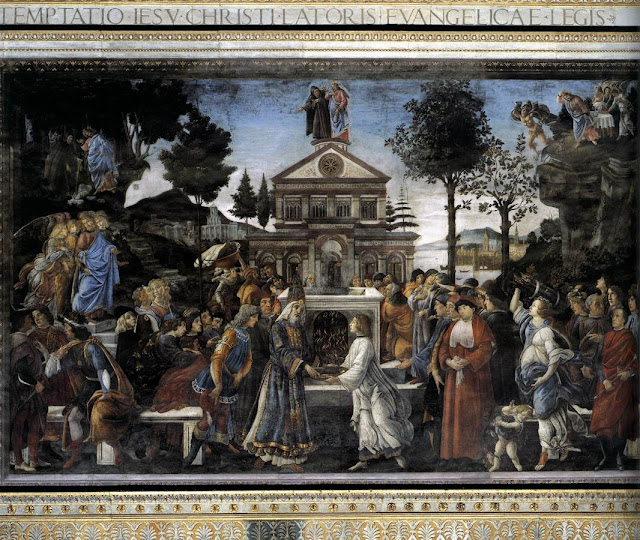 Botticelli: Kristovo iskušenje
