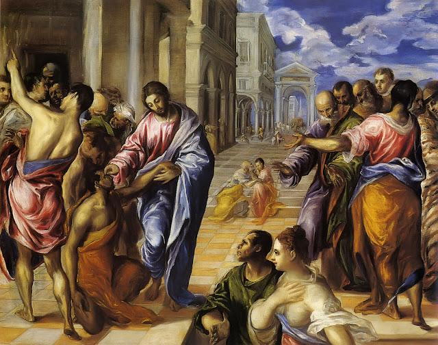 El Greco: Ozdravljenje slijepca