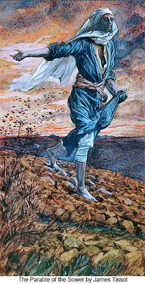 James Tissot: Prispodoba o sijaču