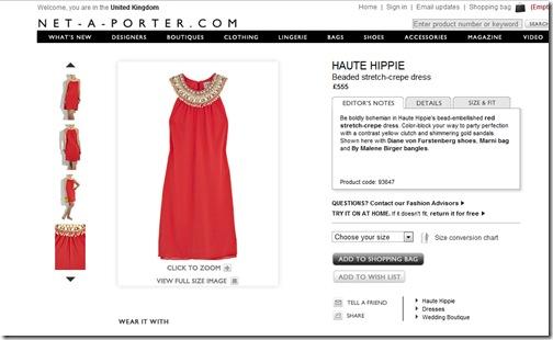 netaporter dress