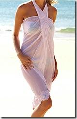coco bay white sarong dress