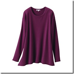 uniqlo cashmere long sweater