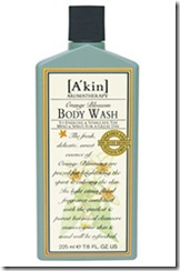 akin orange blossom body wash