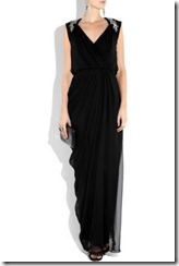 new years eve long black dress