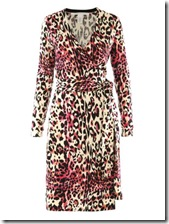 DvF Leopard Print Dress