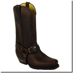 Loblan Marron Cowboy Boot