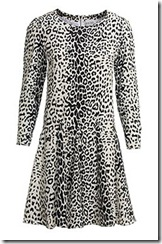Reiss animal print dress