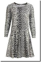 Reiss animal print dress