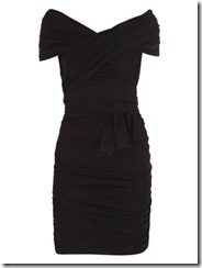 black dress max mara