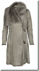 all saints sheepskin coat