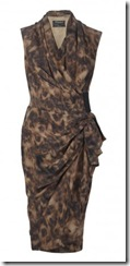 all saints leopard dress