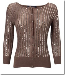 French Connection sequin cardigan