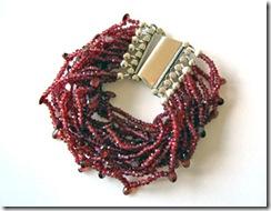 maia garnet bracelet