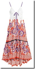 printed cotton sundress