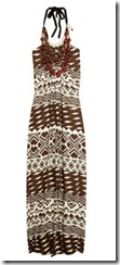 tribal sundress