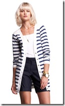 Striped Cardigan - Isabella Oliver