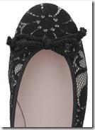 lace ballet shoe