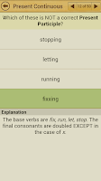 Screenshot of Grammar Express : Tenses Lite
