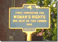 Women's Right's sign