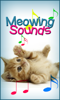 Screenshot of Meowing Cat Sounds