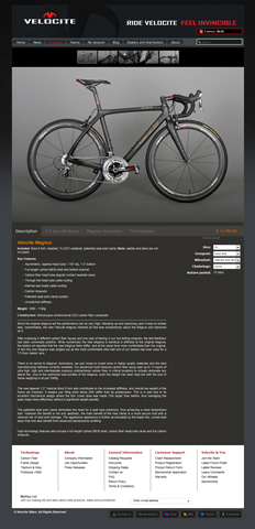 Magnus -- Magnus 1.0 - Ride Velocite, feel invincible - Velocite Bikes_1302655139026