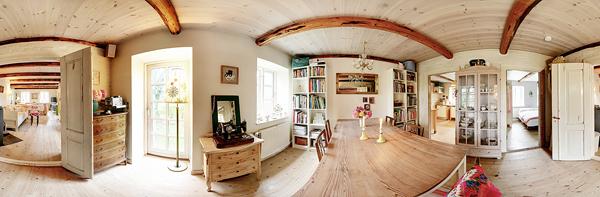 Interiores daneses en formato panor mico una mosca en la - Moscas pequenas cocina ...