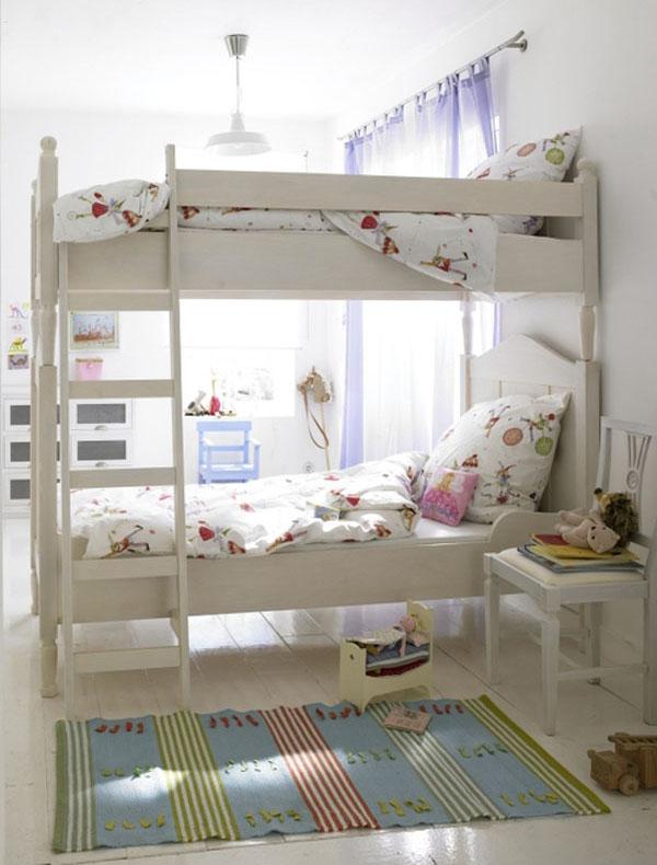 Habitaciones con literas para ni os una mosca en la luna - Dormitorios con literas para ninos ...