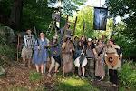 Velká Sarumanova armáda, povětšinou od Syla ze školy.