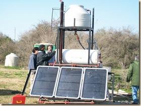colector solar pilar