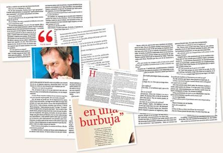 Ver hugh en diario critica