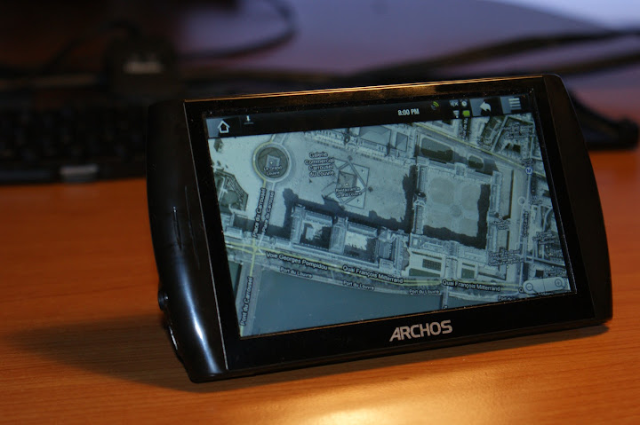Archos 5 Internet Tablet with Google Maps
