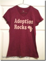 adoption rocks shirts