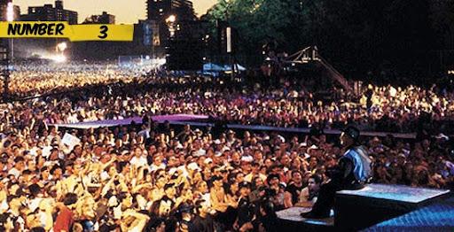10 Konser Musik terbesar Dunia sepanjang sejarah | Foto & Video