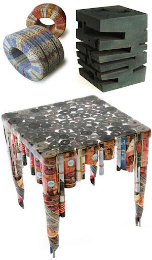 Foto Furniture Unik dari barang bekas 4