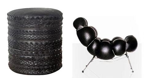 Foto Furniture Unik dari barang bekas 6