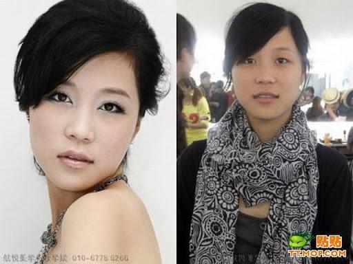 Foto : Kenapa Cewek Butuh waktu lama untuk Dandan, Make up 5