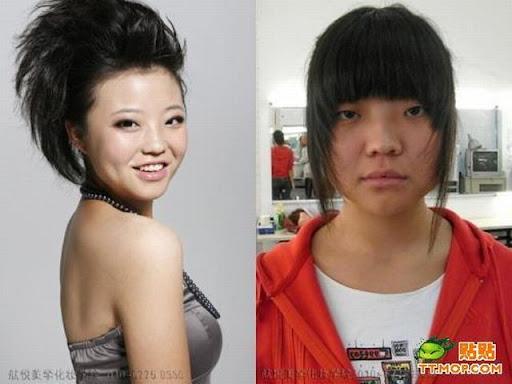 Foto : Kenapa Cewek Butuh waktu lama untuk Dandan, Make up 7