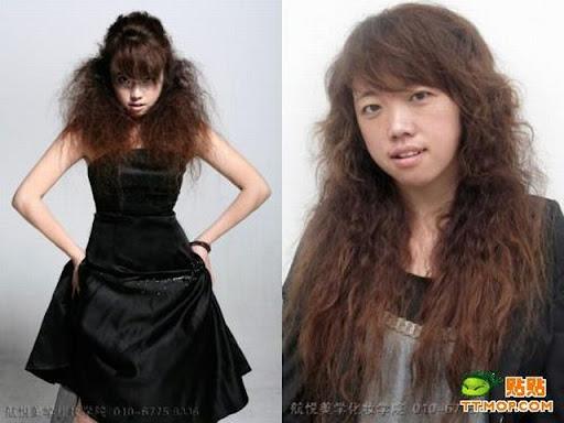 Foto : Kenapa Cewek Butuh waktu lama untuk Dandan, Make up 9