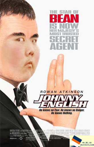 Foto : Photoshop merusak wajah Johnny English