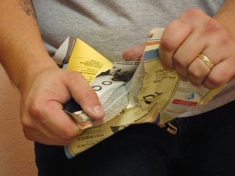 Trik Sulap : Cara merobek Buku Telpon dengan mudah