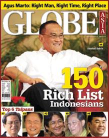 Ini Dia!  Daftar 10 orang terkaya Indonesia | Versi Globe Asia  2010