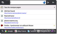 Firefox RC2 Maemo