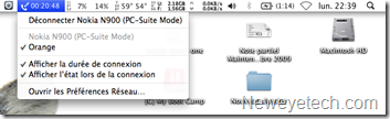 Paramètres réseau mac os x