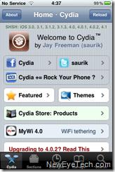 Cydia iOS 4.2.1
