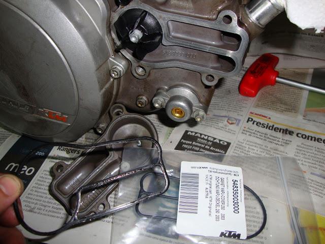 Ktm 250 -revisao 200 horas / kit 300 DSC01688