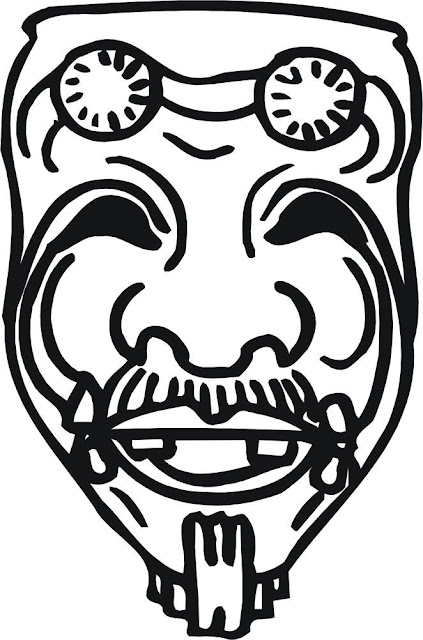 Mascaras de monstros - Camping car a colorier ...